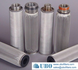 pleated fuel filters