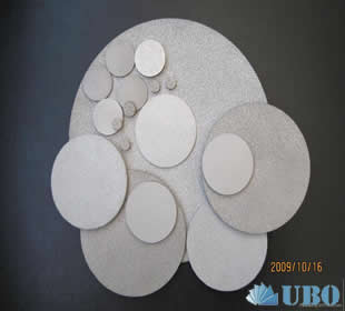 Bronze powder sintered Filter sheet