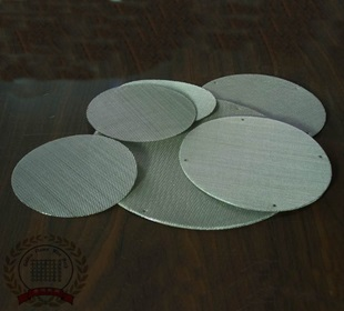 Metal Sintered Powder Filter Disc