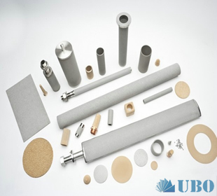 Titanium powder sintered filter plate