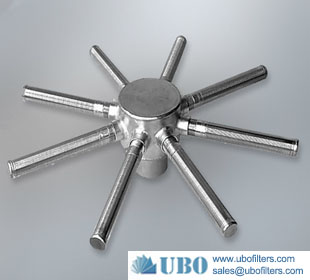 stainless steel screen hub radial laterals for Anion Resins