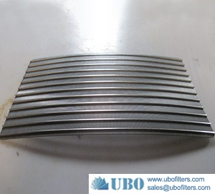SS food area sieve bend screen