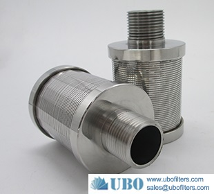 SS wedge wire filter nozzle in high speed mixed bed system