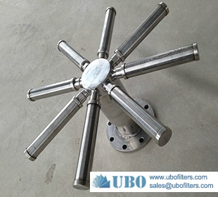 Stainless steel wedge wire screen lateral distributor for water treatment system