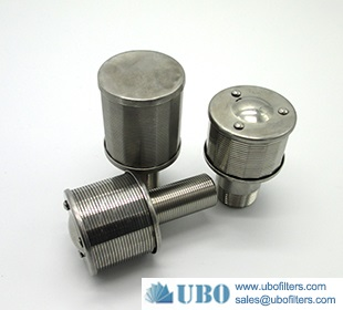 SS filter nozzle for ion exchage resin column