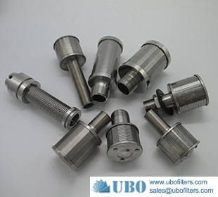 Weld wedge wire water nozzle for MB