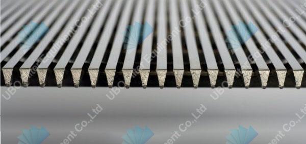 Vibratory Conveyor Wedge Wire Screen Decks
